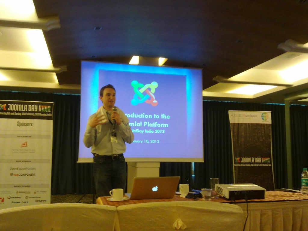 Ryans Presentation at Joomla Day India 2013