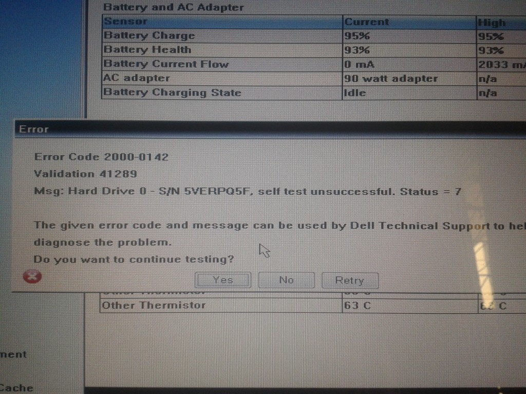 HDD Failure
